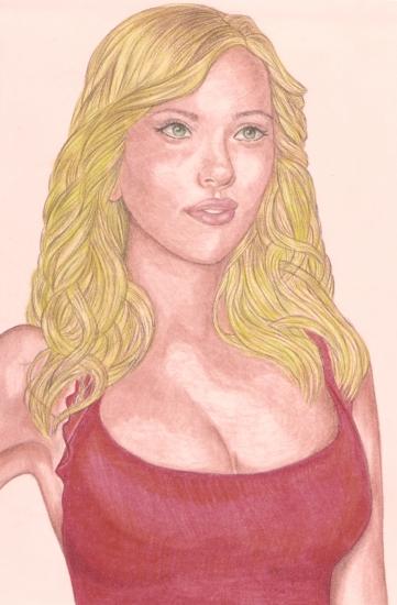 Scarlett Johansson by DignityBoy
